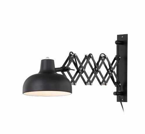 Aplica Triangel, metal, neagra, 60 x 15 x 28 cm la pret 199.5 lei
