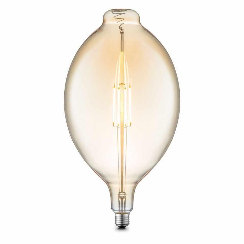 Bec DIY II, LED, metal/sticla, 18 x 33 x 18 cm, 4w la pret 192 lei