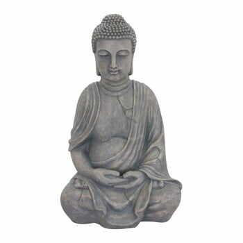 Decorațiune de grădină ADDU Buddha, gri la pret 1188 lei