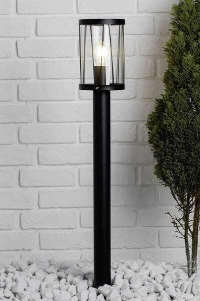 Lampa de exterior Reed III, metal/plastic, negru, 13,3 x 80,5 cm, 60w la pret 170 lei