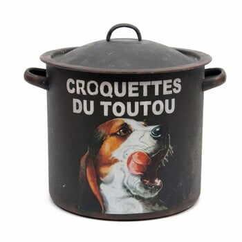Recipient depozitare Antic Line Croquettes Du Toutou la pret 231 lei
