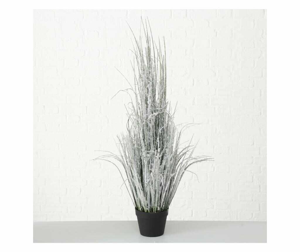 Ghiveci cu planta artificiala Large - Boltze, Alb la pret 199.99 lei