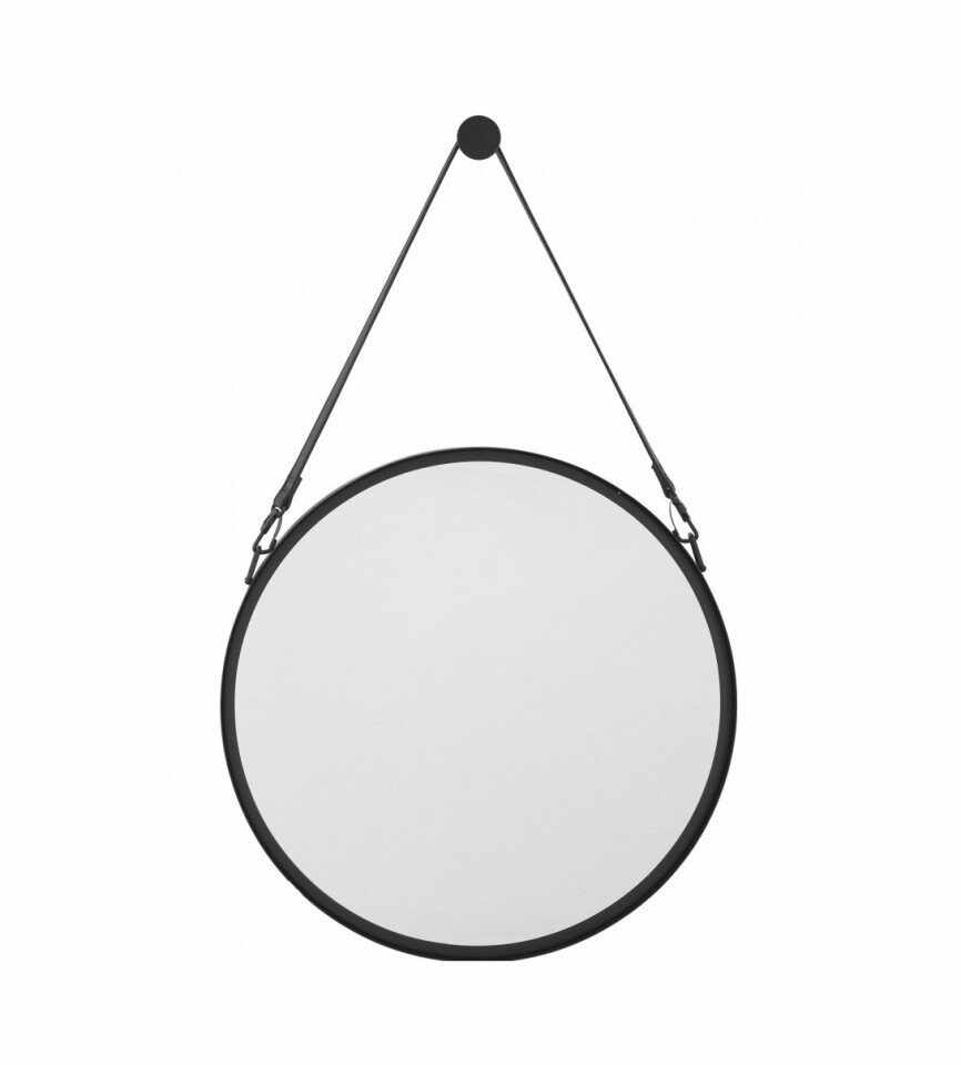 Oglinda de perete Liz, negru, 55 x 4 cm la pret 355 lei