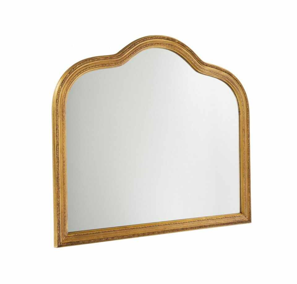 Oglinda de perete Muriel, auriu, 90 x 77 x 2,5 cm la pret 535 lei