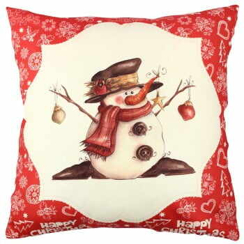 Pernă Snowman Red&White, 43x43cm la pret 81 lei