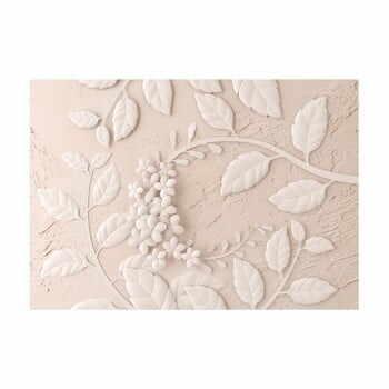 Tapet în format mare Artgeist Beige Paper Flowers, 400x280cm la pret 419 lei