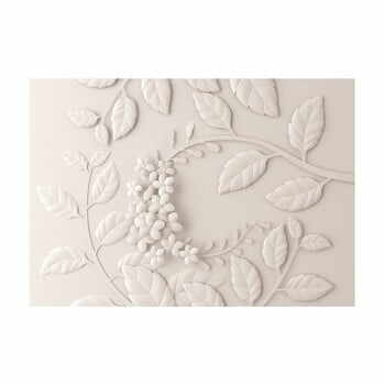 Tapet în format mare Artgeist Cream Paper Flowers, 400x280cm la pret 482 lei