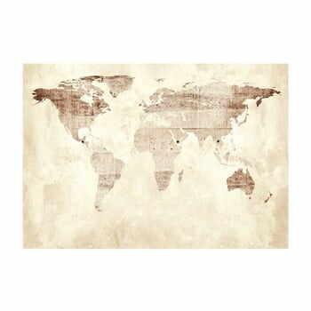 Tapet în format mare Artgeist Precious Map, 400x280cm la pret 419 lei