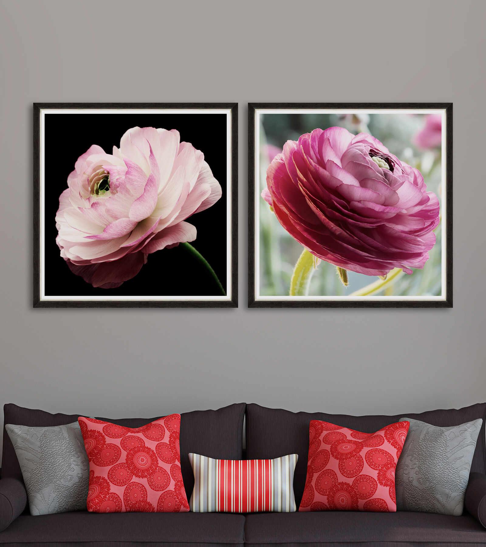Tablou 2 piese Framed Art Splendid Ranunculus la pret 1380 lei