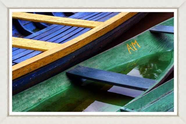 Tablou Framed Art Amazonian Boats  la pret 735 lei