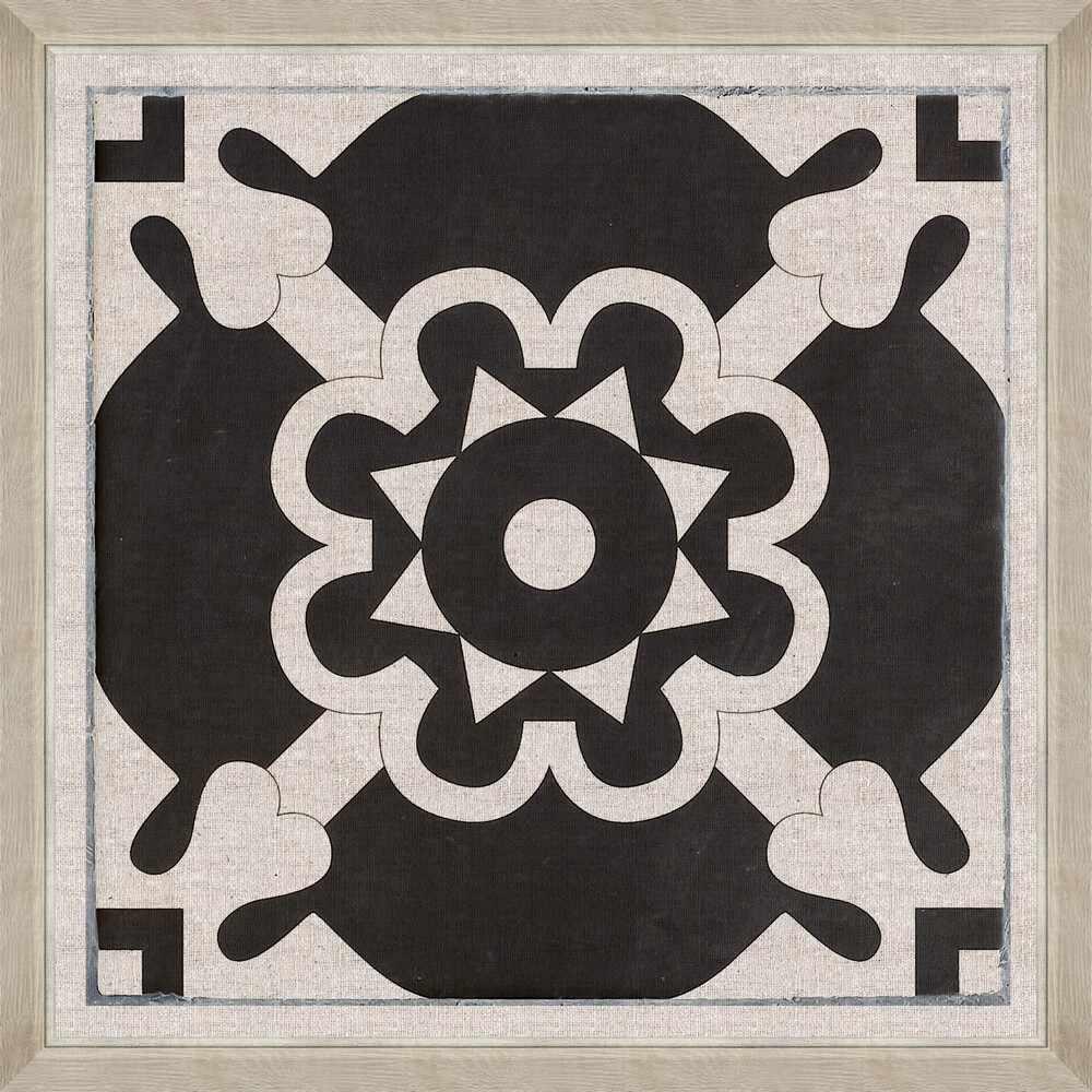 Tablou Framed Art Black Tile I la pret 729 lei
