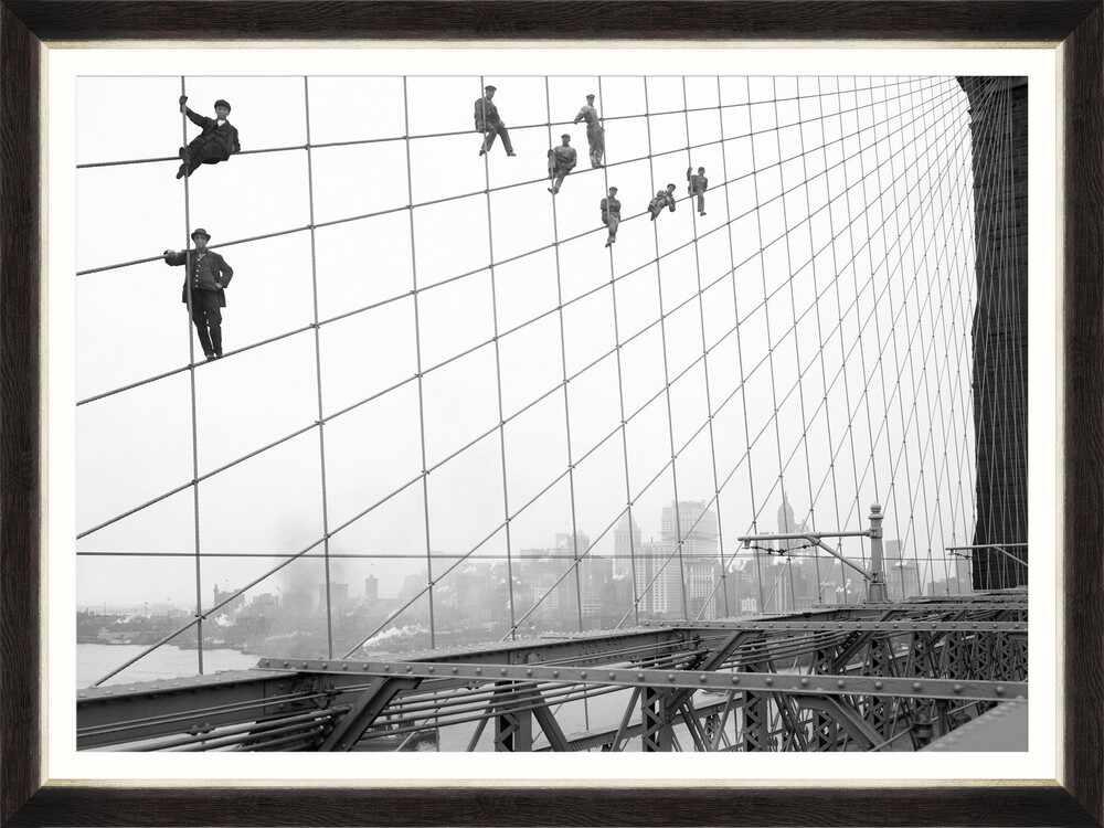 Tablou Framed Art Brooklyn Bridge Painters la pret 625 lei