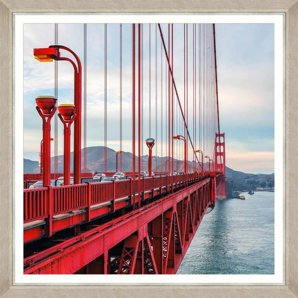 Tablou Framed Art Famous Golden Gate I la pret 690 lei