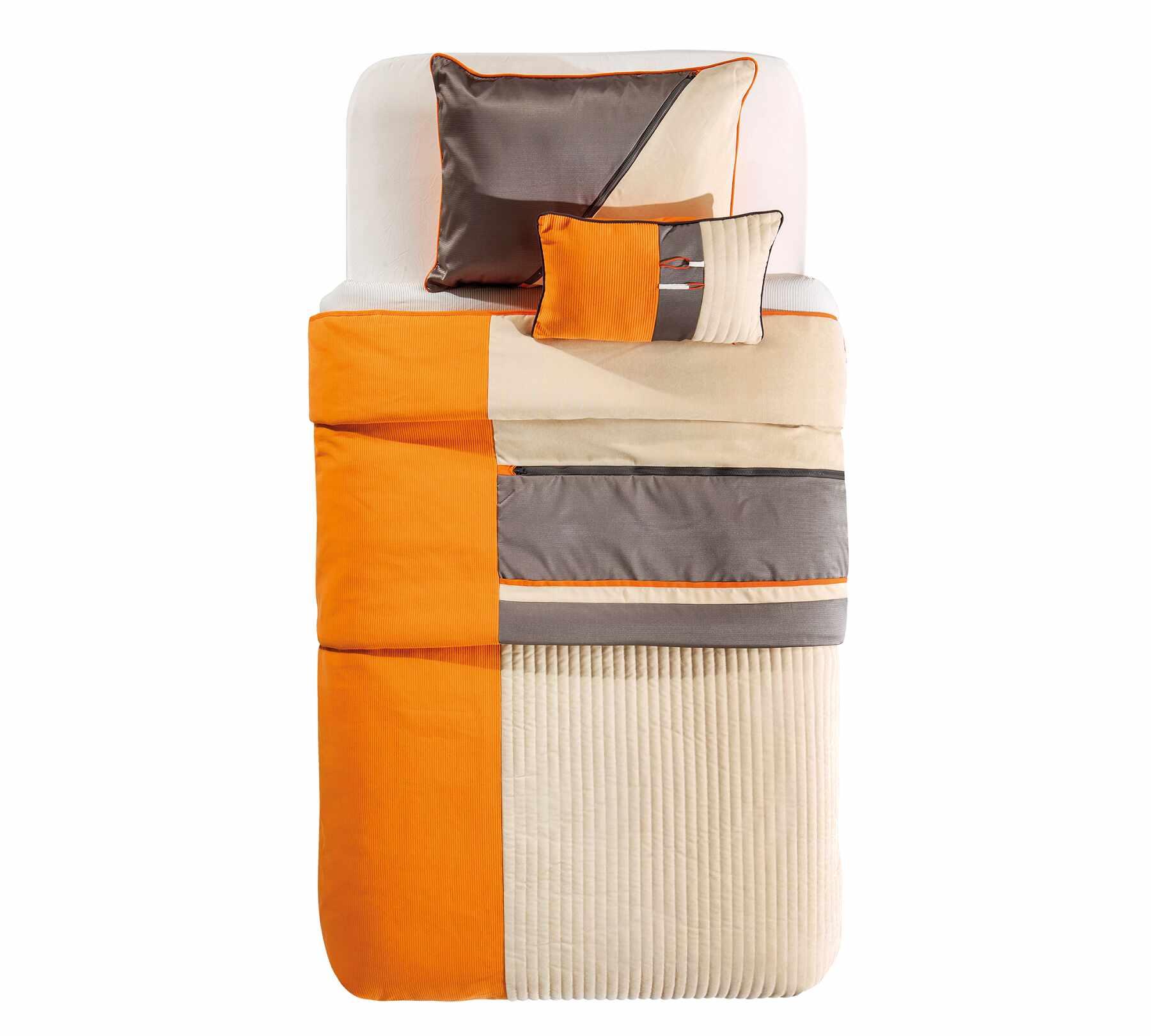 Set cuvertura pat copii si 1 perna decorativa Dynamic Multicolor la pret 435 lei
