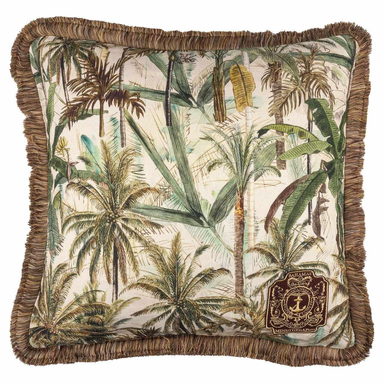 Perna decorativa The Jungle Multicolor, L50xl50 cm la pret 716 lei