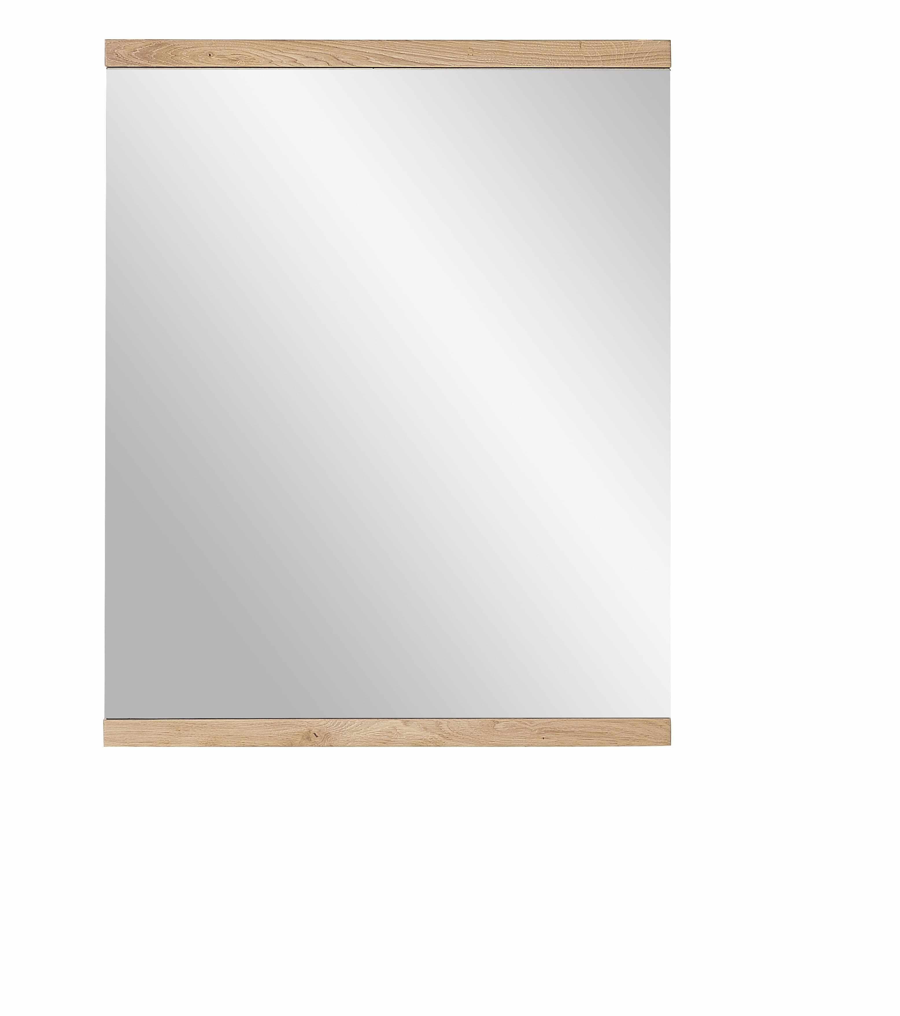 Oglinda din furnir si lemn Crispin Natur, l71xH88 cm la pret 671 lei