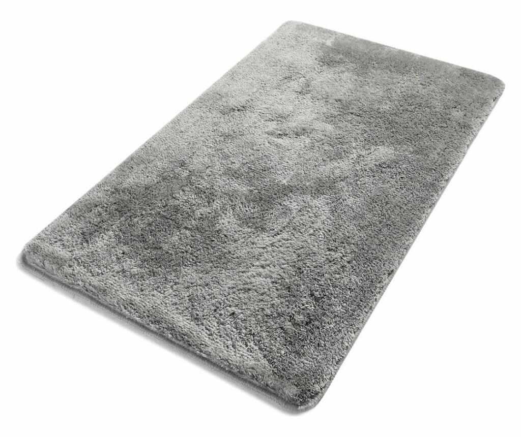 Covoras de baie Havai Grey 80x140 cm - Chilai Home, Gri & Argintiu la pret 269.99 lei