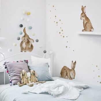 Autocolant pentru perete Dekornik Happy Rabbits Wonderland la pret 309 lei
