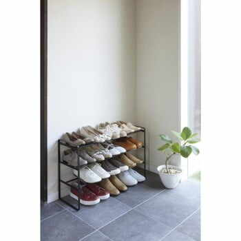 Pantofar ajustabil cu 3 etaje YAMAZAKI Maebashi, negru la pret 426 lei