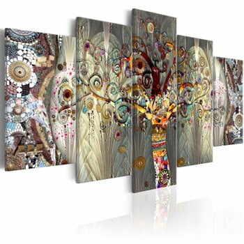 Tablou pe pânză din mai multe piese Bimago Tree of Life, 100 x 50 cm la pret 323 lei