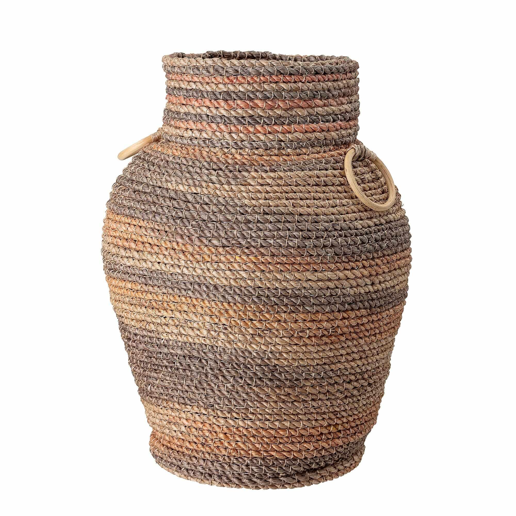 Cos pentru depozitare din abaca, Jina Multicolor, Ø39,5xH53,5 cm la pret 746 lei