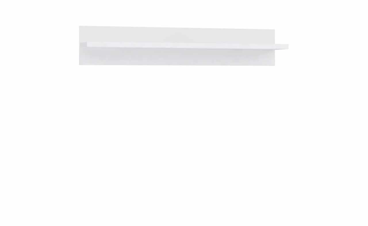 Etajera suspendata din pal Livinglight Alb, l140xA25,3xH25,8 cm la pret 435 lei