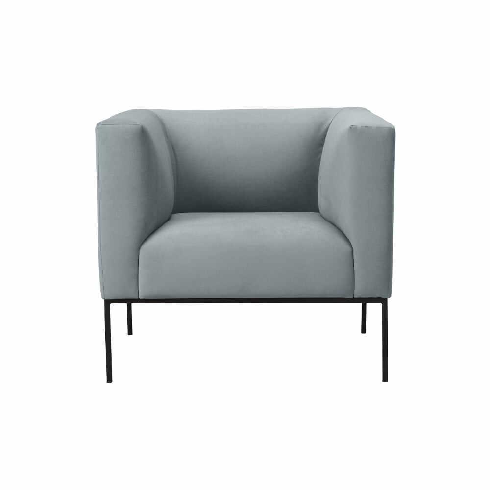 Fotoliu Windsor & Co Sofas Neptune, gri deschis la pret 2497 lei