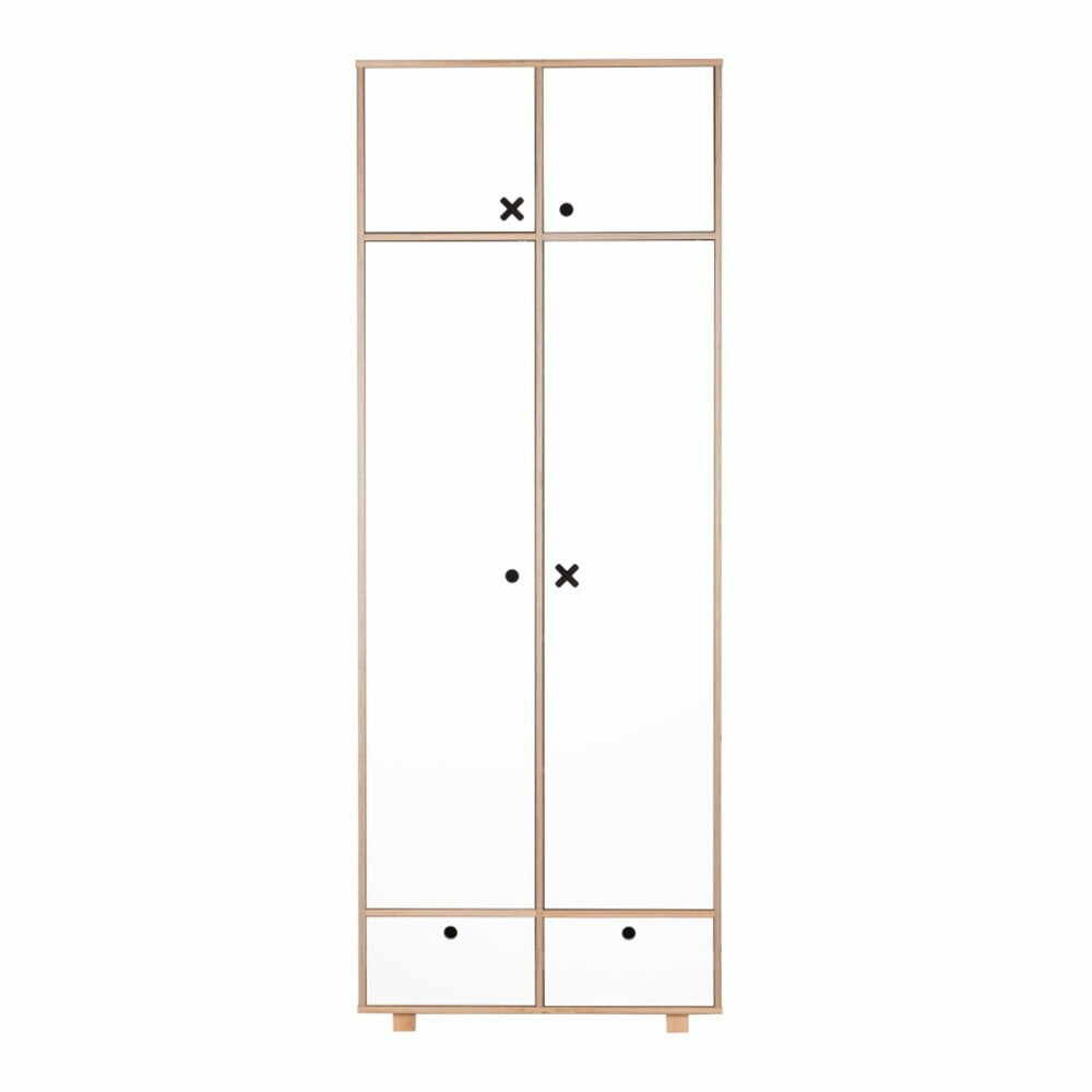 Șifonier cu 2 uși Durbas Style, alb la pret 3549 lei