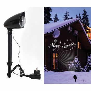 Corp de iluminat exterior pentru casă Naeve Merry Christmas la pret 194 lei