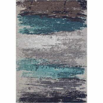 Covor Eco Rugs Aqua Abstract, 80 x 150 cm la pret 299 lei