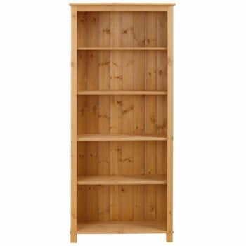Bibliotecă din lemn masiv de pin Støraa Pinto la pret 806 lei