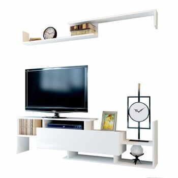 Comodă TV Dream, alb la pret 596 lei