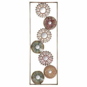 Decorațiune metalică pentru perete Mauro Ferreti Gliss II, 90 cm la pret 241 lei