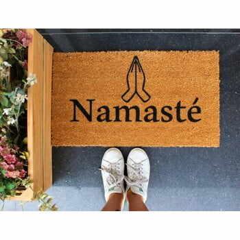 Preș Doormat Namaste, 70 x 40 cm la pret 201 lei