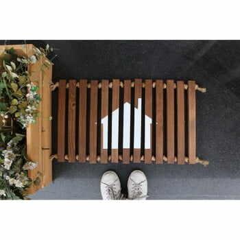 Preș/suport din lemn Doormat Woodie, 64 x 40 cm la pret 278 lei