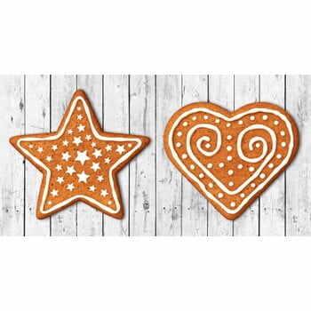 Traversă de masă Crido Consulting Gingerbread Hearth, lungime 100 cm la pret 159 lei
