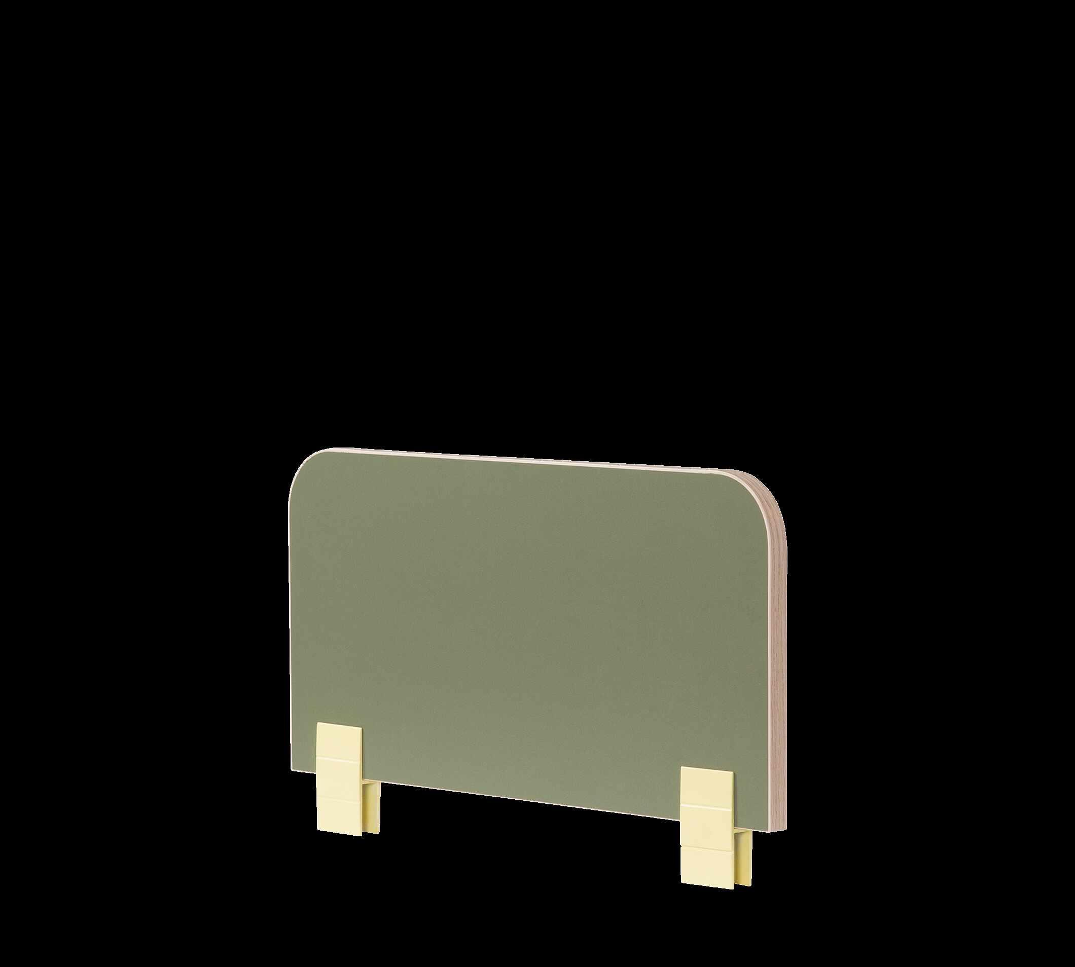 Protectie din pal pentru pat copii Montessori Verde, l50xA2xH29 cm la pret 155 lei
