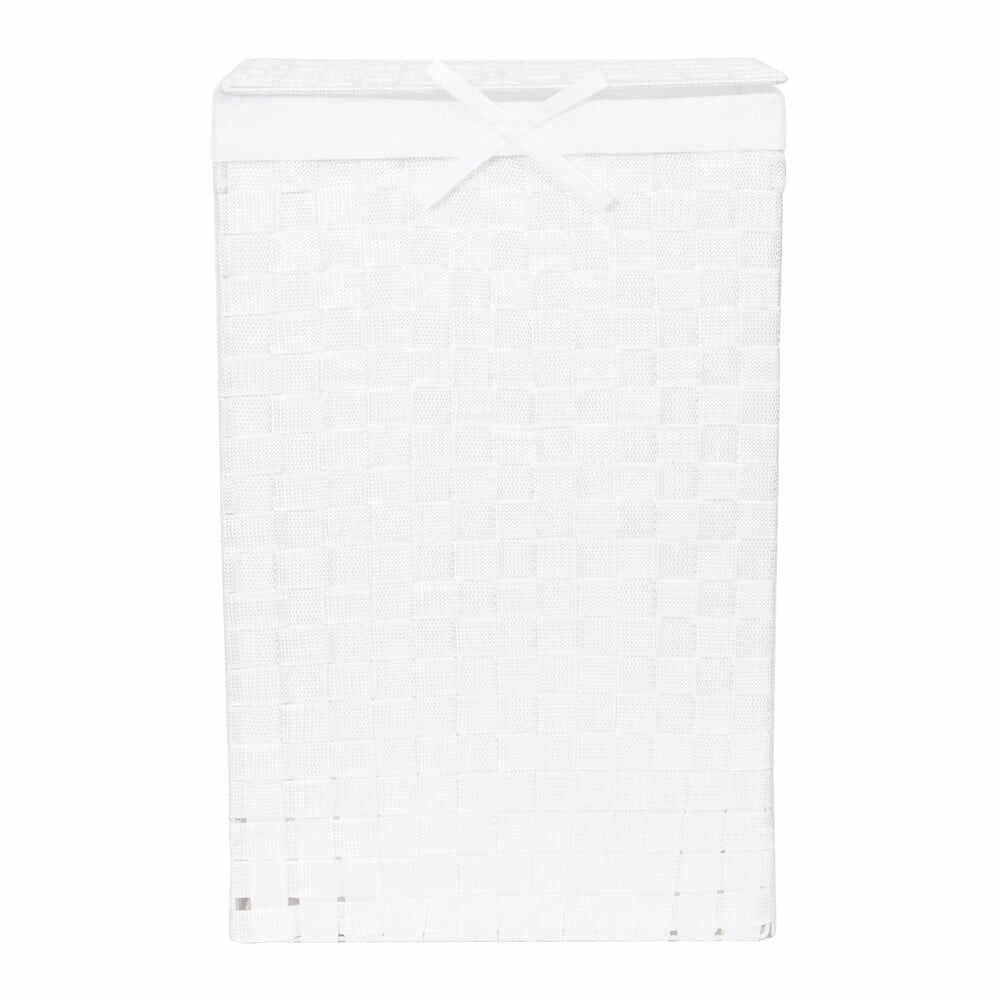 Coș de rufe Compactor Laundry Linen, înălțime 60 cm, alb la pret 191 lei