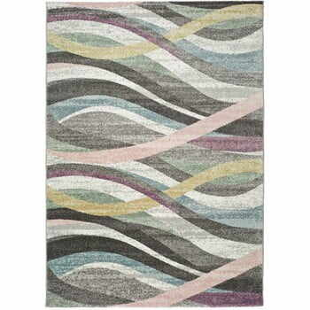 Covor Universal Lucy Multi Waves, 140 x 200 cm