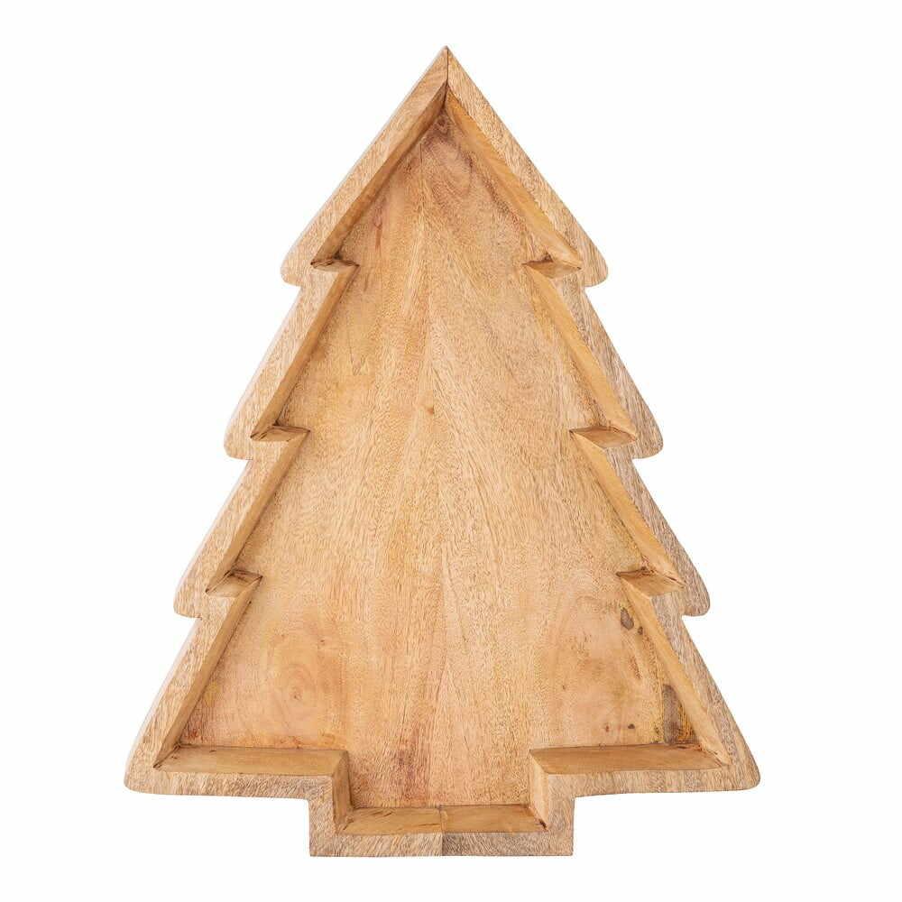 Platou de Crăciun din lemn de mango Bloomingville Ronan la pret 354 lei