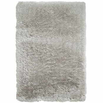 Covor țesut manual Think Rugs Polar PL Light Grey, 120 x 170 cm, gri deschis