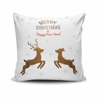 Pernă Reindeeers Jumping, 45x45 cm la pret 44 lei