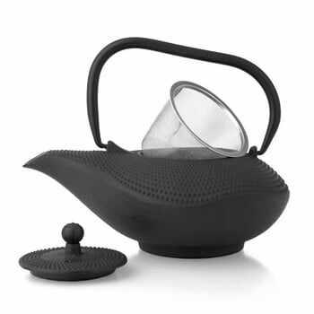 Ceainic din fontă cu infuzor Bredemeijer Alladin 1 l, negru la pret 225 lei