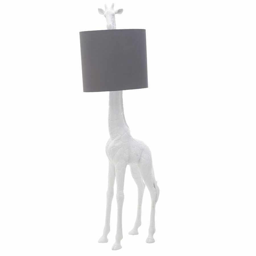 Darida Lampadar girafa, Polirasina, Alb la pret 1720 lei