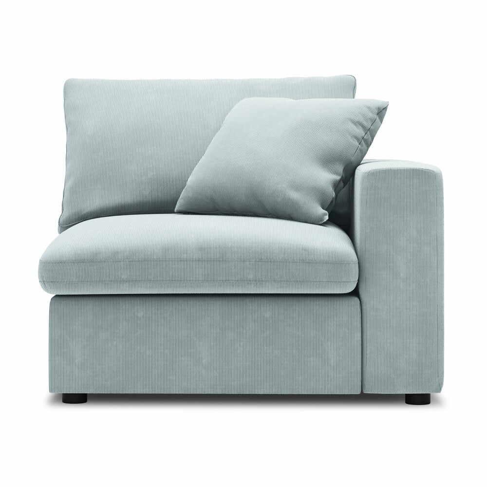 Modul pentru canapea colț de dreapta Windsor & Co Sofas Galaxy, albastru deschis la pret 4427 lei