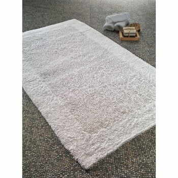 Covoraș de baie din bumabc Confetti Bathmats Natura Heavy, 70 x 120 cm, alb la pret 425 lei