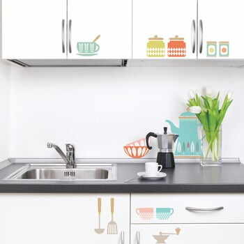 Set autocolante Kitchenware Wall
