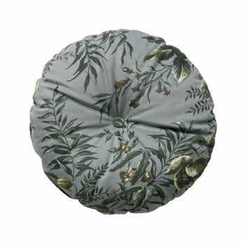 Pernă cu motive florale BePureHome Vogue, ø 45 cm, gri la pret 198 lei