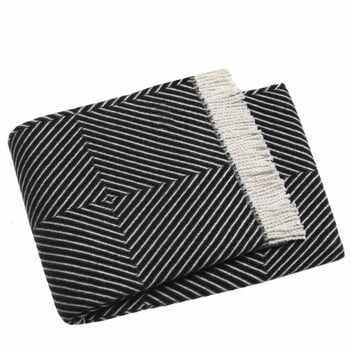 Pled Euromant Tebas, 140x180cm, negru la pret 195 lei
