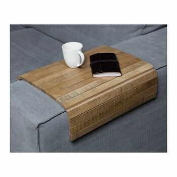 Cotieră flexibilă pentru canapea WOOOD Armrest, maro la pret 174 lei